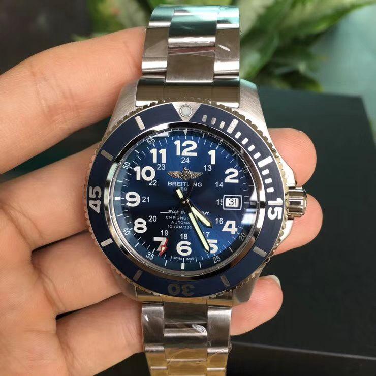 爆款回货【原单】百年灵超级海洋文化系列A17365D1|C915|161A机械腕表 / BL088