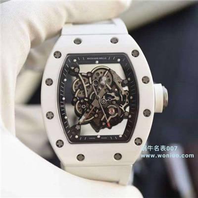 【KV一比一超A高仿复刻手表】RICHARD MILLE里查德米尔男士系列RM 055腕表价格报价