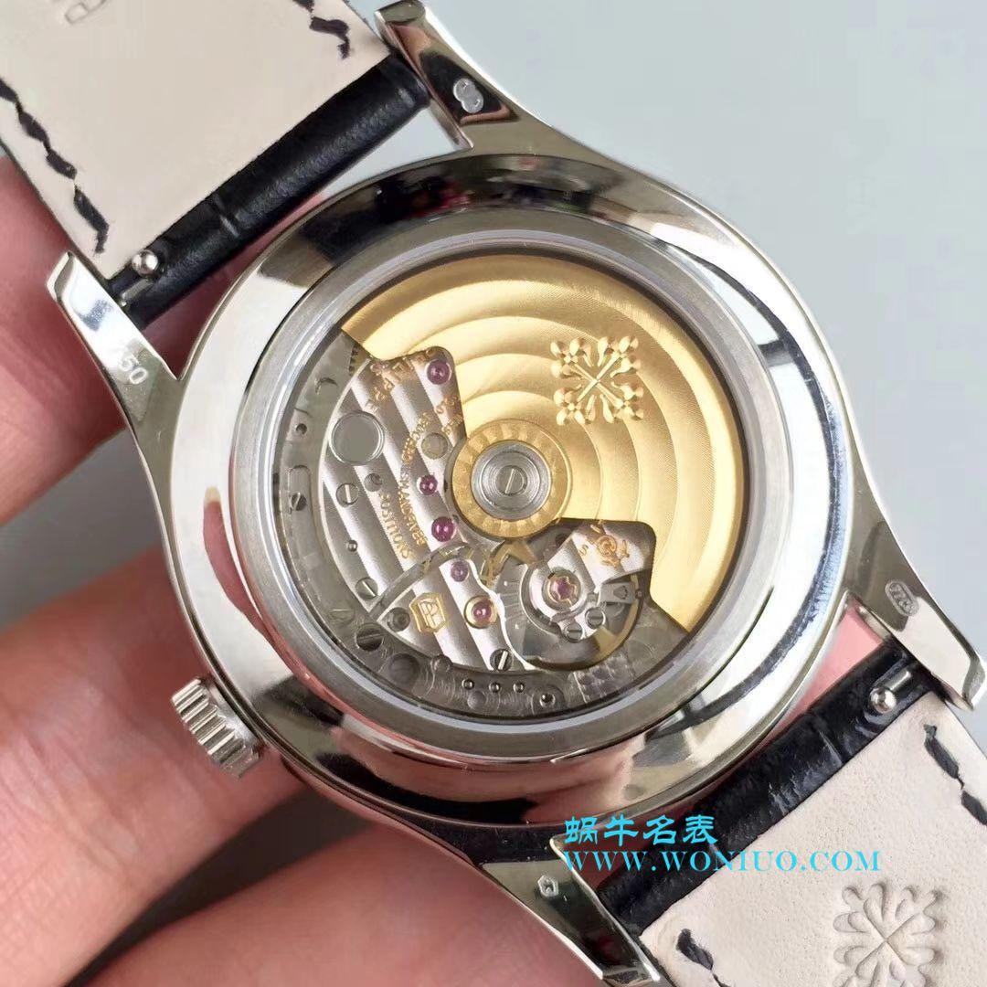 【KM一比一超A高仿手表】百达翡丽复杂功能计时系列5205G-001、5205G-010、5205G-013 白金腕表 / BD226