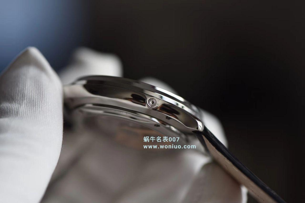 【ZF一比一超A高仿手表】积家大师MASTER ULTRA THIN超薄大师月相大师系列1368420腕表 / JJ123