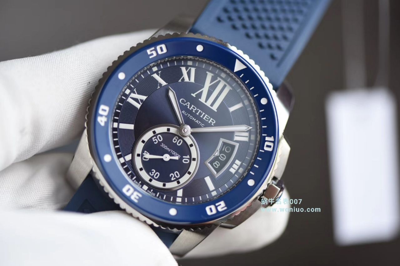 【JF一比一超A高仿手表】卡地亚卡历博/卡利博CALIBRE DE CARTIER 系列WSCA0011腕表钢带款 / KDY076