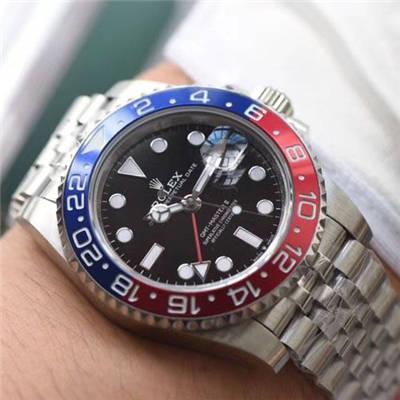 【BP出品】劳力士格林尼治型II系列126710BLRO-0001腕表价格报价