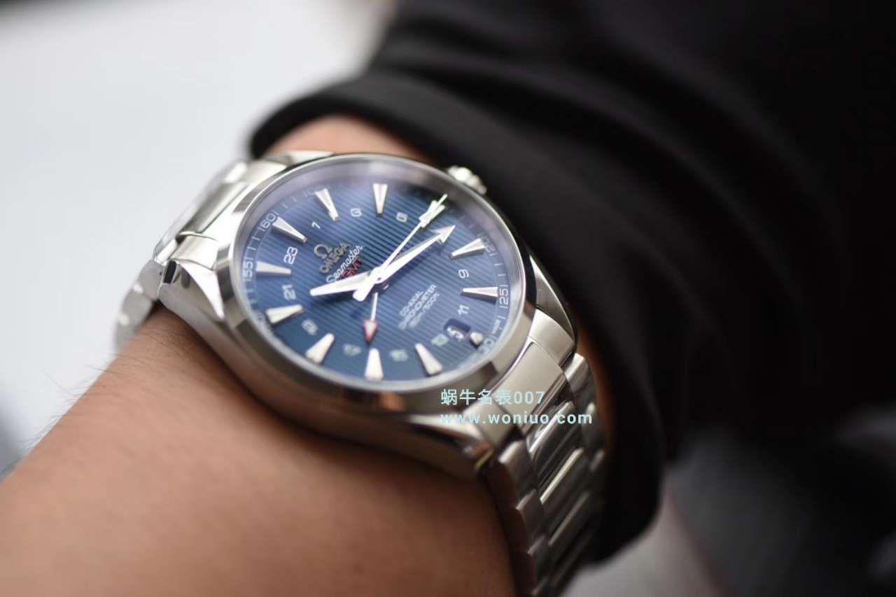 【VS一比一超A高仿手表】欧米茄海马GMT 150米系列231.10.43.22.03.001腕表 / M332