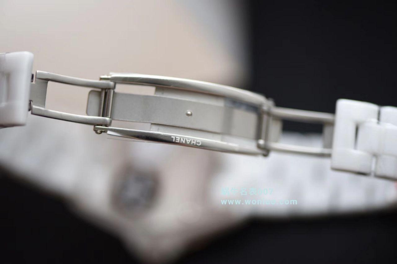【独家视频评测】KOR韩版 香奈儿 J12香奈儿INTENSE 重置加强版38MM 男女中性机械腕表 / X030