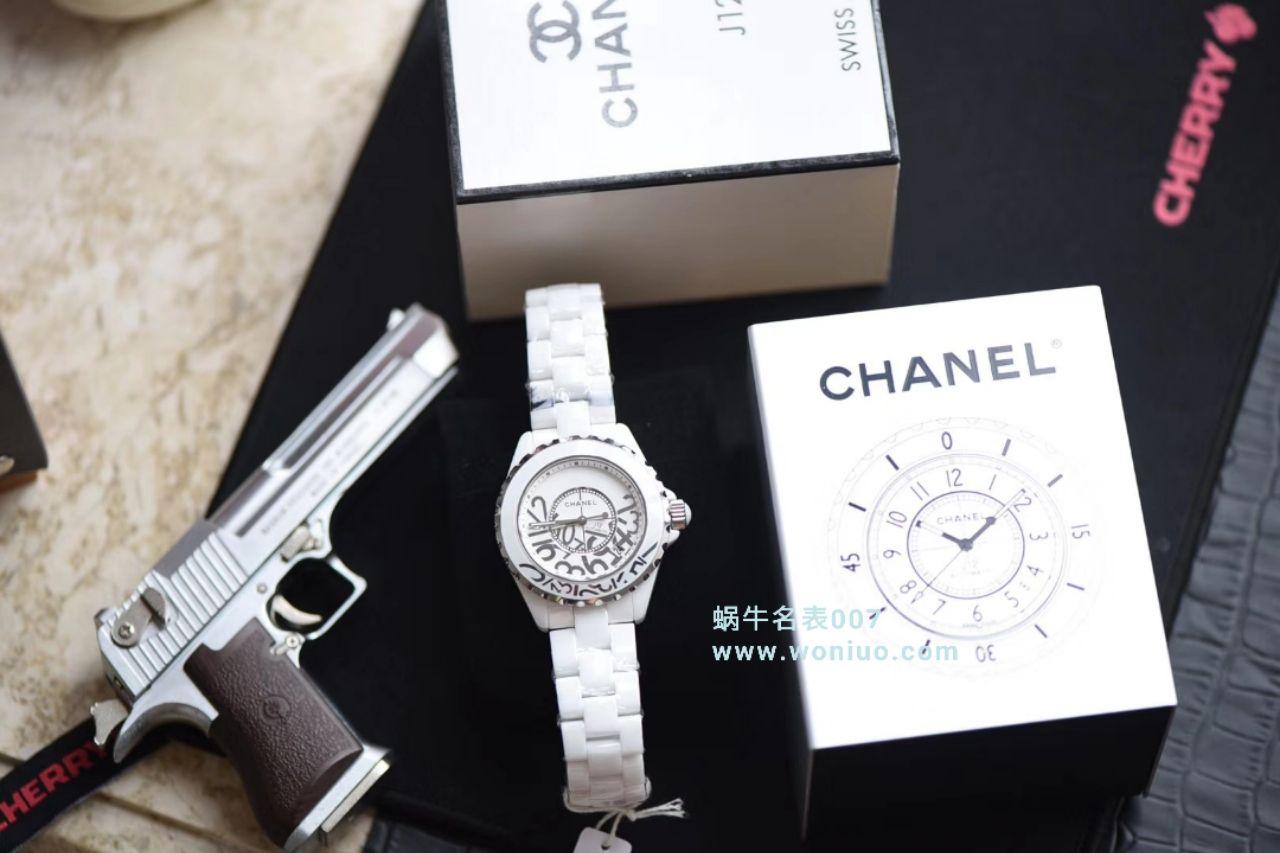 【独家视频评测】KOR韩版 香奈儿 J12香奈儿INTENSE 重置加强版38MM 男女中性机械腕表 / X031