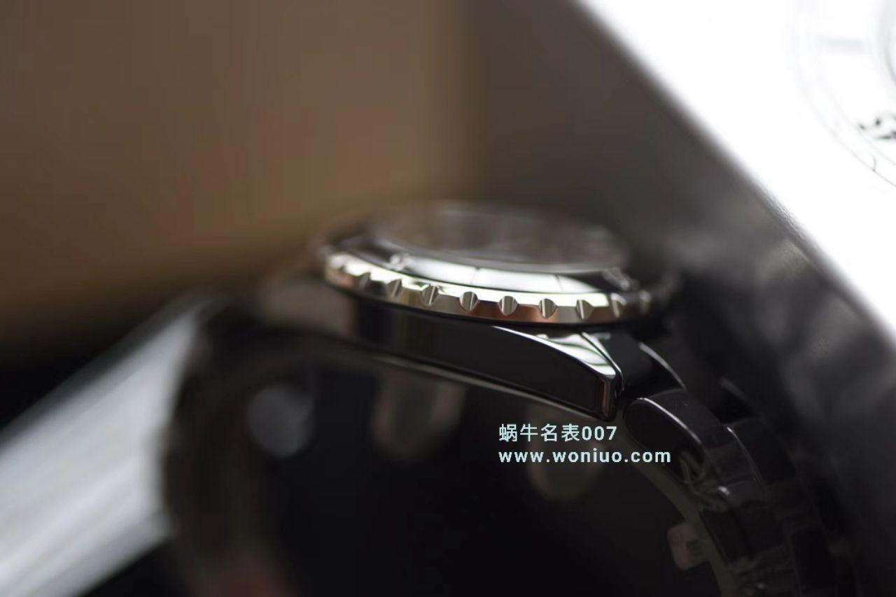 【独家视频评测】KOR韩版 香奈儿 J12香奈儿INTENSE 重置加强版女士石英腕表 / X033