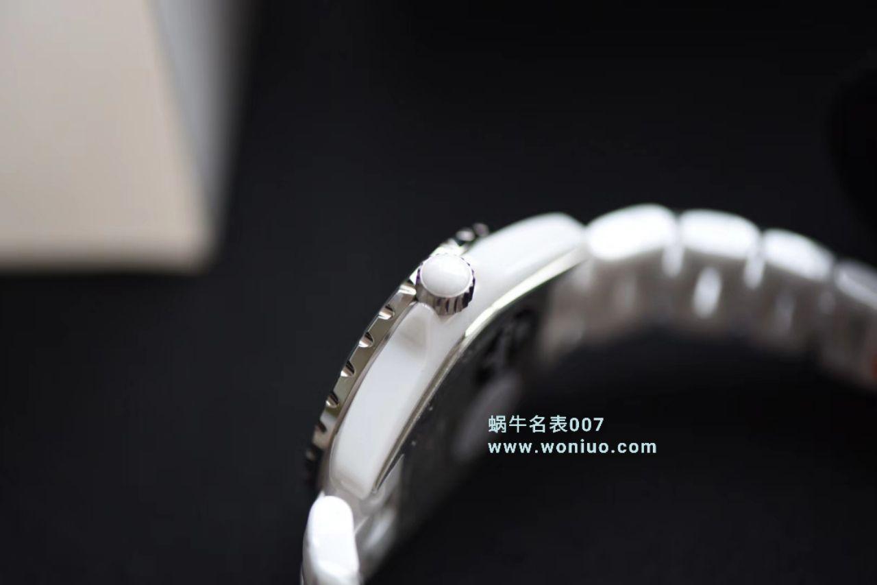 【独家视频评测】KOR韩版 香奈儿 J12香奈儿INTENSE 重置加强版女士石英腕表 / X034