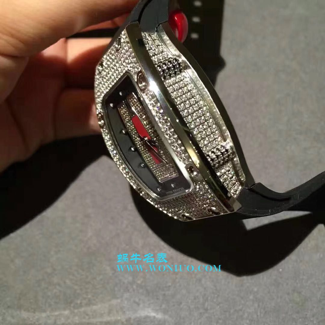 理查德米勒RICHARD MILE 女士系列RM 07 红唇女士机械腕表 / RM 07B