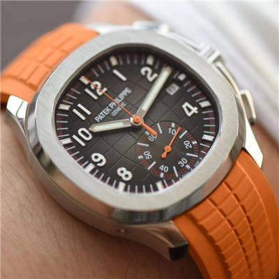 【YL厂一比一超A高仿手表】百达翡丽手雷AQUANAUT系列5968A-001腕表