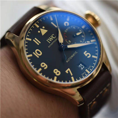 ZF新品--万国IWC空中霸主(大飞行员)系列——IW501005青铜腕表