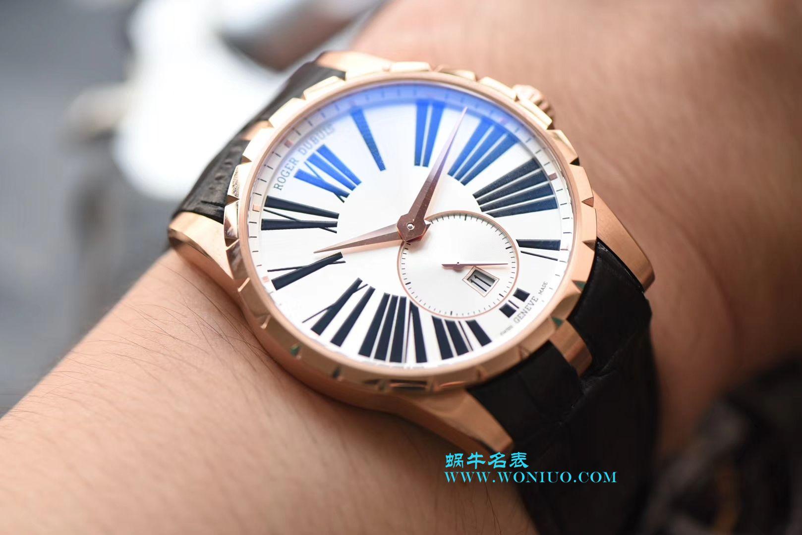 【RD厂一比一超A高仿手表】罗杰杜彼EXCALIBUR(王者系列)系列DBEX0538腕表 / LJ025