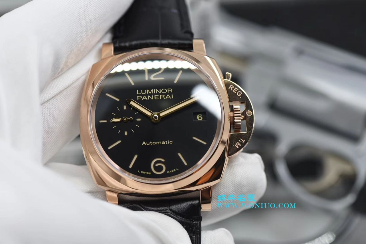 【VS一比一超A高仿手表】沛纳海LUMINOR DUE系列PAM00908腕表 / VSPAM00908