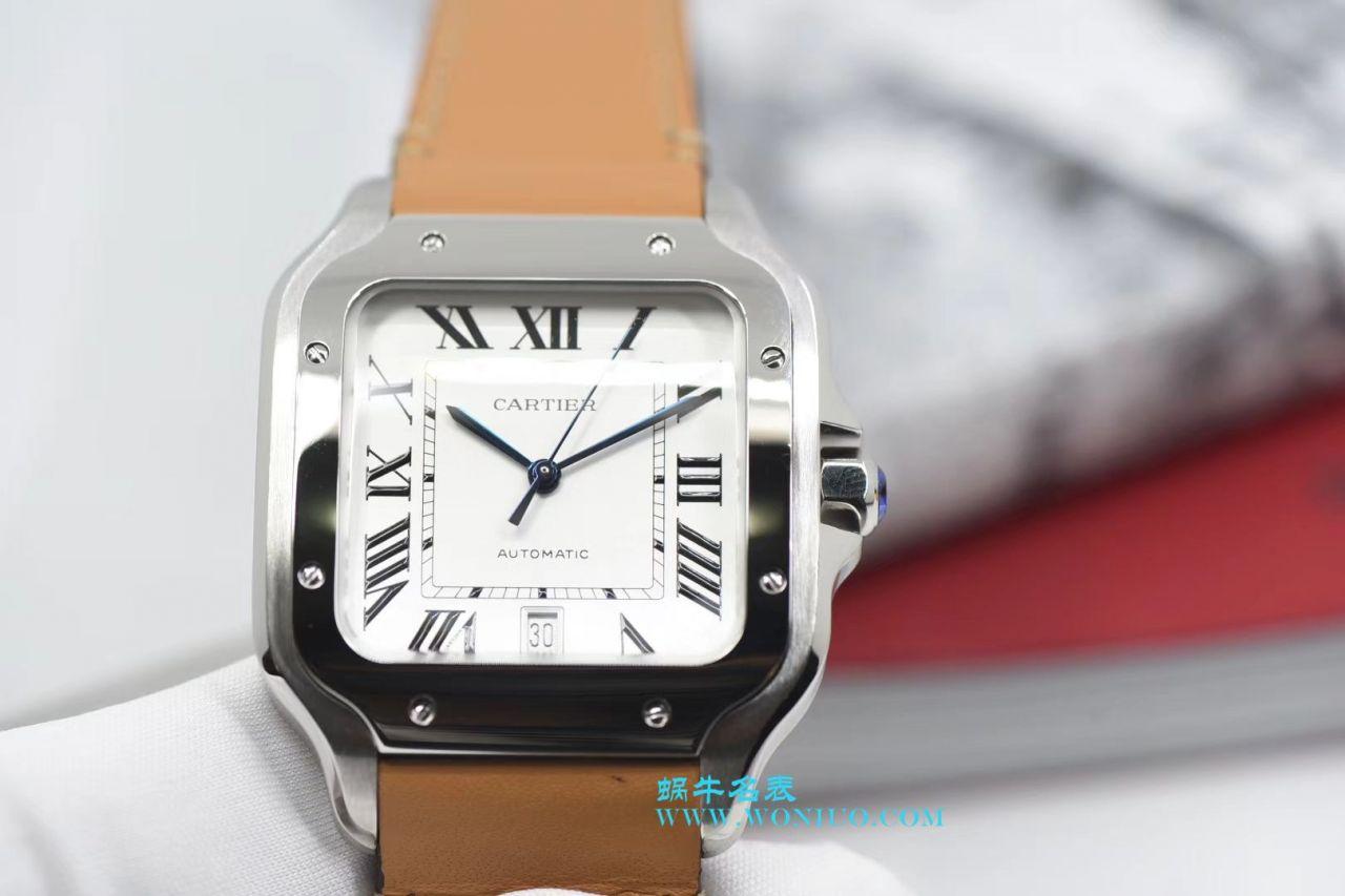 【KOR厂一比一超A高仿手表】卡地亚桑托斯山度士系列WSSA0009腕表 / K162