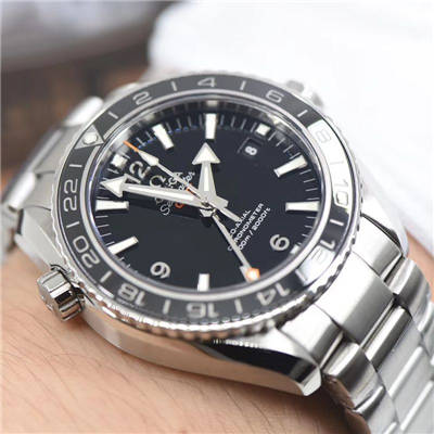 【VS一比一超A复刻手表】欧米茄海马海洋宇宙600米系列GMT232.30.44.22.01.001腕表价格报价