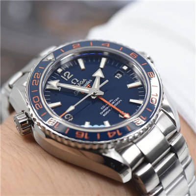 【VS厂一比一超A复刻手表】欧米茄海马海洋宇宙600米系列GMT232.30.44.22.03.001腕表