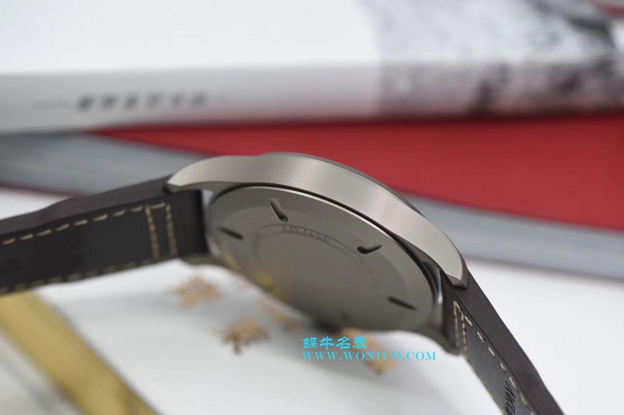 【GS厂一比一顶级复刻手表】万国表飞行员系列马克18钛金属IW327006腕表 / WG170