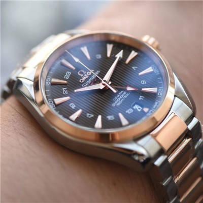 【VS一比一超A高仿手表】欧米茄海马系列231.20.43.22.06.003 GMT腕表