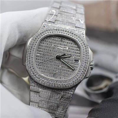 【PF厂一比一超A复刻手表】百达翡丽运动系列5719/10G-010腕表(鹦鹉螺)