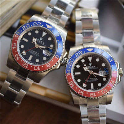 【DJ一比一超A高仿手表】劳力士格林尼治型II系列116719-BLRO腕表价格报价