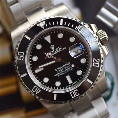 【视频解析DJ一比一超A顶级复刻手表】劳力士潜航者型系列116610LN-97200 黑盘腕表(黑水鬼)价格报价