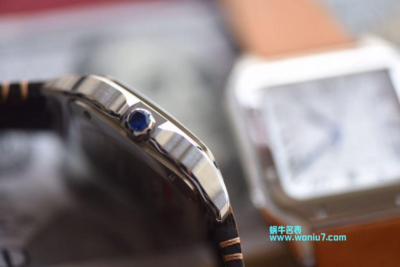 【V6厂一比一超A顶级高仿手表】卡地亚山度士系列WSSA0009男女情侣腕表 / K165