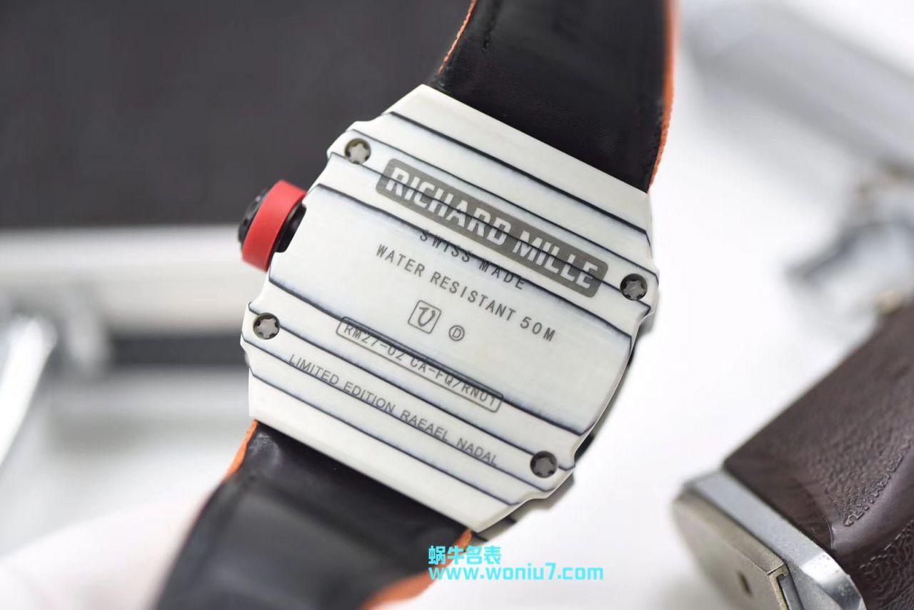 【RM厂一比一超A高仿手表】理查德.米勒RICHARD MILLE男士系列RM 27-02腕表 / RM 27-02