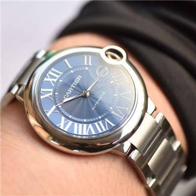 【V6厂一比一超A高仿手表】卡地亚蓝气球系列WSBB0025男款42MM腕表