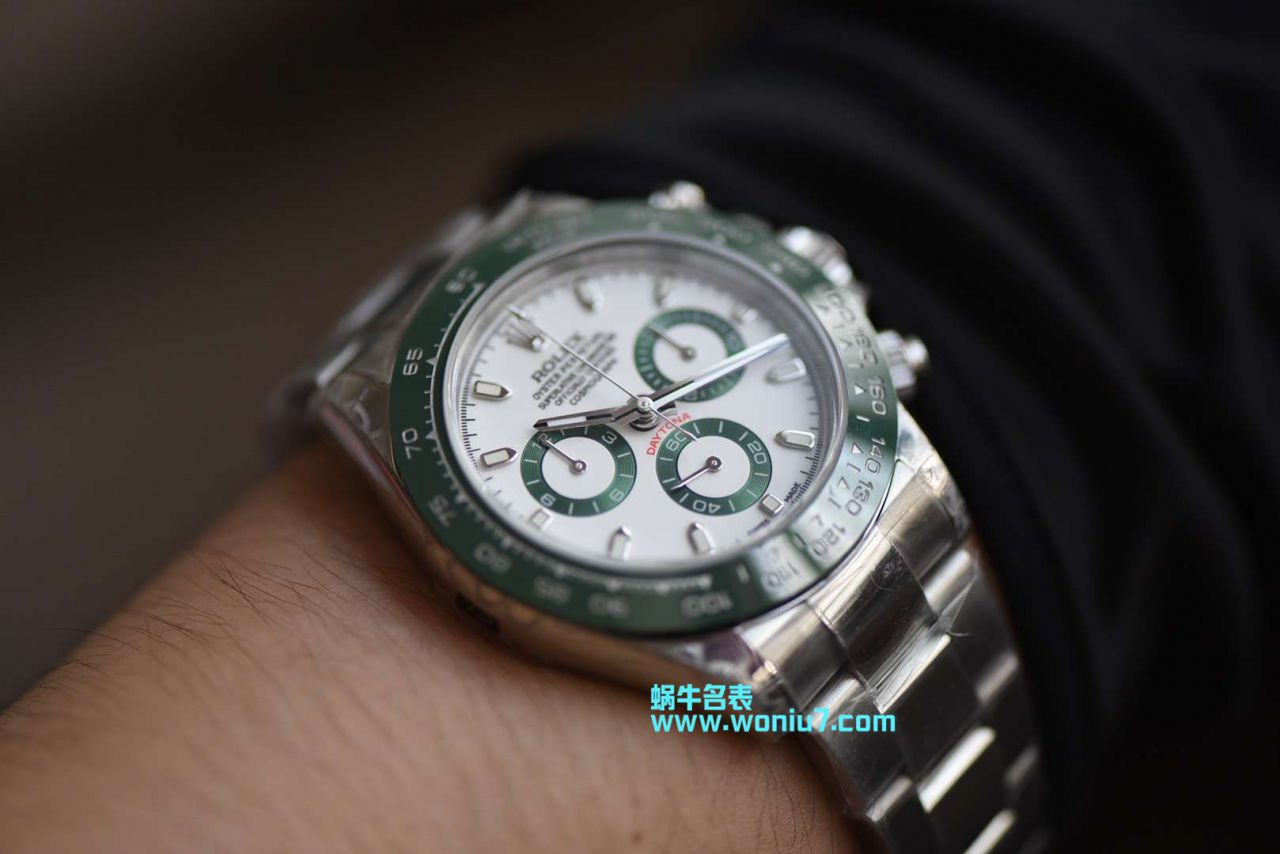 【台湾厂一比一超A高仿手表】劳力士迪通拿绿圈~最高品质 / R242