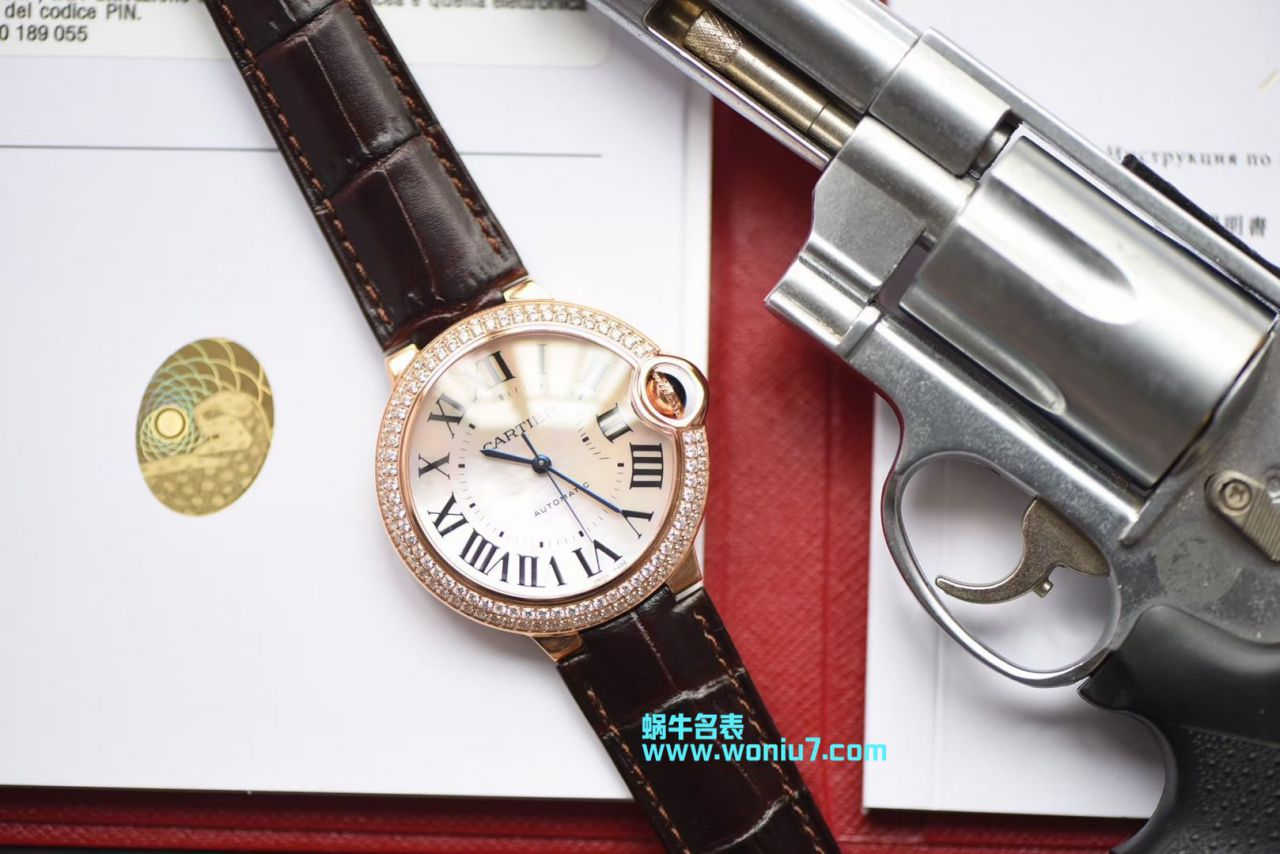 V6出品 卡地亚奢华蓝气球36 毫米女装机械腕表 / K172