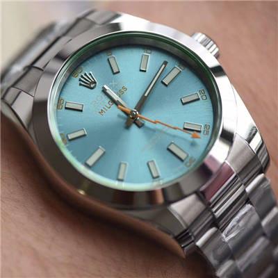 【DJ一比一超A高仿手表】劳力士MILGAUSS系列116400-GV-72400蓝盘腕表(绿玻璃)