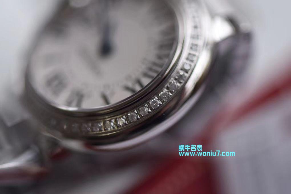 【渠道原单】卡地亚蓝气球系列WE9003Z3腕表28毫米女士真钻石英 / K173