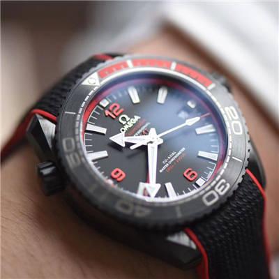 【VS一比一超A高仿手表】欧米茄海马系列深海之黑215.92.46.22.01.003、215.92.46.22.01.002腕表价格报价