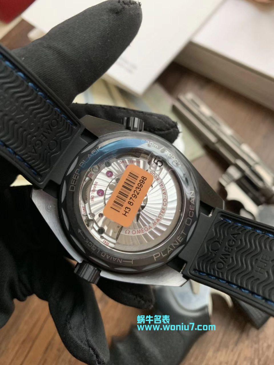 【VS一比一超A高仿手表】欧米茄海马系列深海之黑215.92.46.22.01.003、215.92.46.22.01.002腕表 / M371