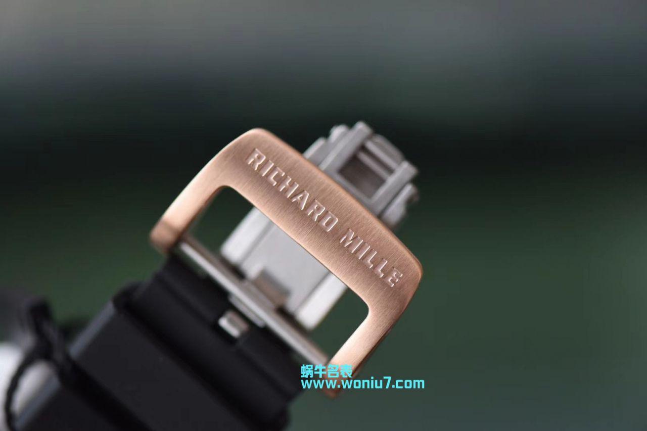 【KV一比一超A高仿手表】理查德.米勒Richard Miller男士系列RM011菲利普_马萨特别版 / KVRM011DFB