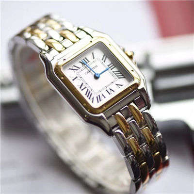 【KOR厂一比一超A高仿手表】卡地亚猎豹PANTHÈRE DE CARTIER系列W2PN0007女士腕表