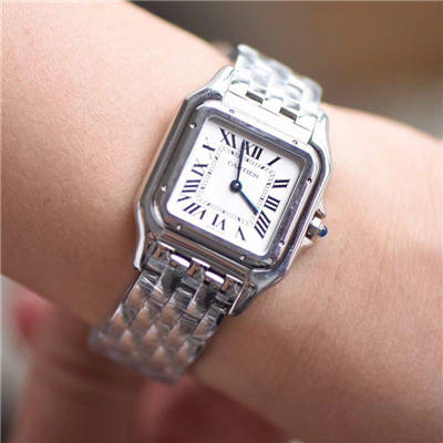 【8848F厂一比一超A精仿手表】卡地亚猎豹PANTHÈRE DE CARTIER系列WSPN0007腕表女装