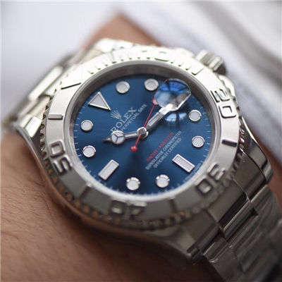 【AR一比一超A高仿手表】劳力士游艇名仕型系列116622蓝盘腕表价格报价
