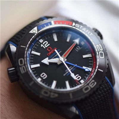 【VS一比一超A高仿手表】欧米茄海马系列深海之黑新西兰酋长队限定版215.92.46.22.01.004腕表价格报价