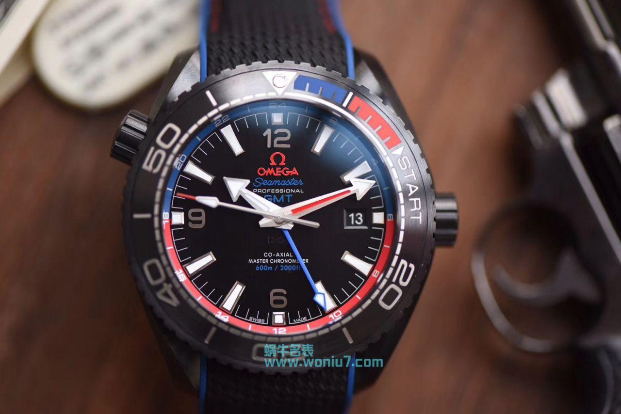 【VS一比一超A高仿手表】欧米茄海马系列深海之黑新西兰酋长队限定版215.92.46.22.01.004腕表 / M372