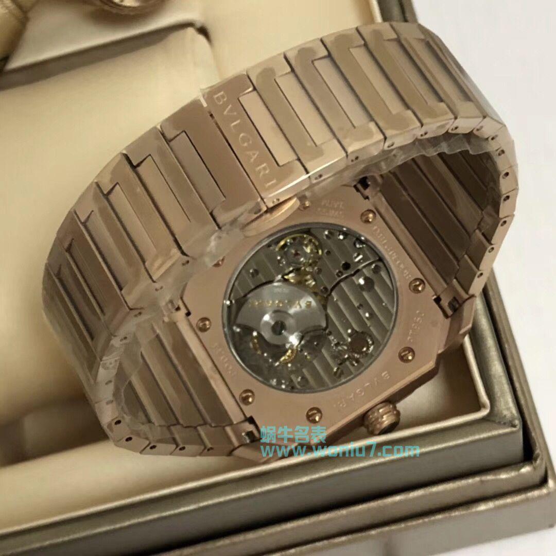 【台湾厂一比一超A高仿手表】宝格丽OCTO系列102912腕表 / BZ021