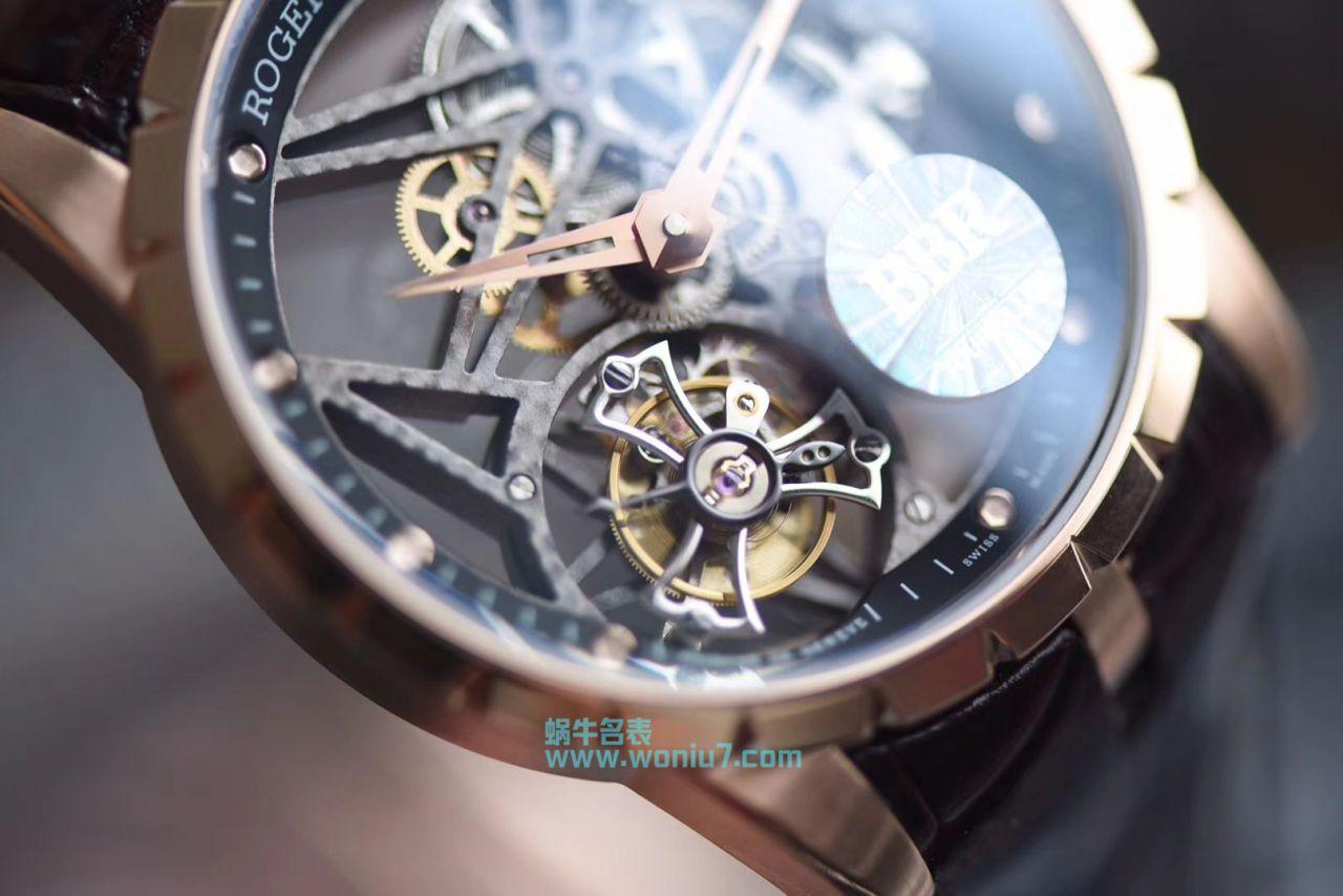 【BBR一比一超A复刻手表】罗杰杜彼EXCALIBUR(王者系列)系列RDDBEX0392陀飞轮腕表 / LJ029