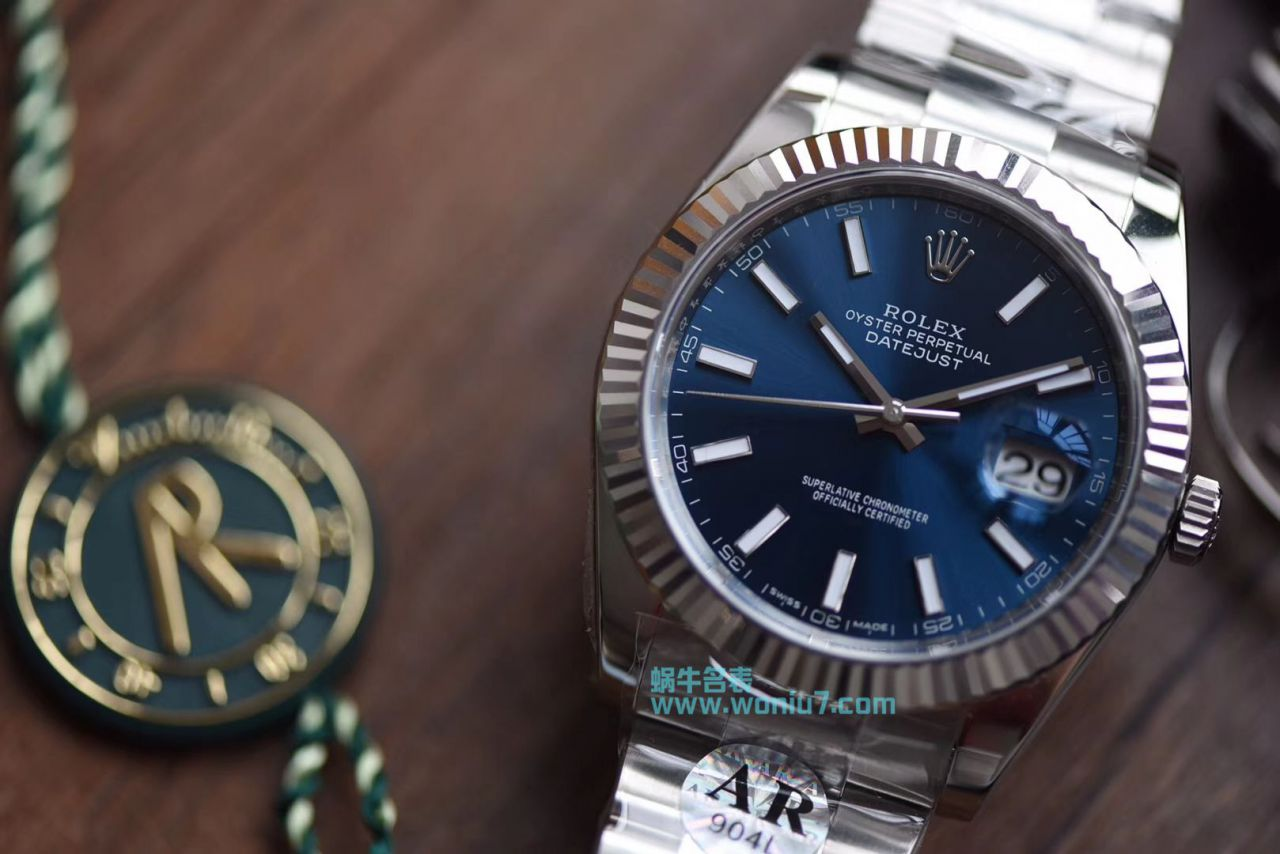 【AR厂一比一超A顶级高仿】劳力士日志型DATEJUST系列116334-72210蓝盘腕表904钢 / R252