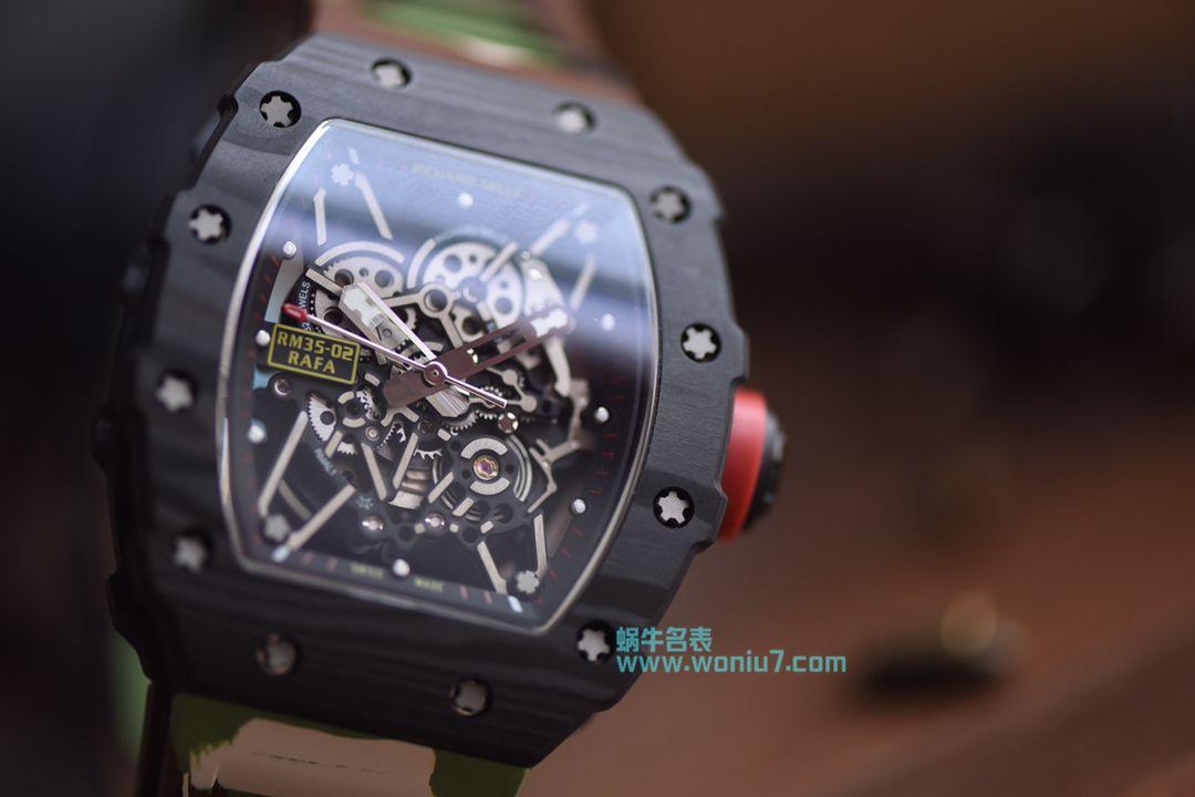 【KV厂一比一超A高仿手表】理查德.米勒Richard Miller男士系列RM035-01迷彩腕表 / RM035-01DF