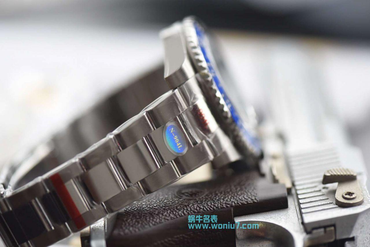【N厂一比一超A高仿手表】N 厂V9版本904L精钢蓝黑圈劳力士格林尼治二代GMT116710BLNR-78200腕表 / R256