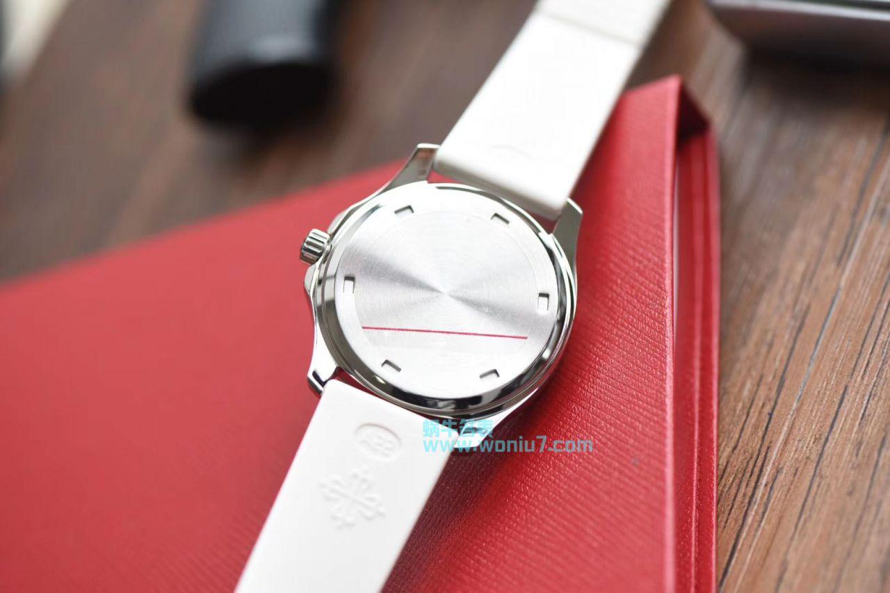 【BP一比一复刻手表】百达翡丽AQUANAUT系列5067A-024女表 / BD188