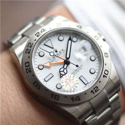 【JF一比一超A精仿手表】劳力士探险家型探险家型II系列 216570-77210 白盘腕表
