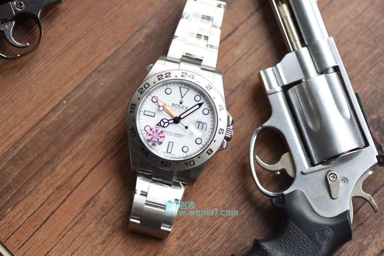 【JF一比一超A精仿手表】劳力士探险家型探险家型II系列 216570-77210 白盘腕表 / R259