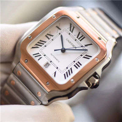 【KOR厂一比一超A高仿手表】卡地亚山度士系列W20099C4腕表