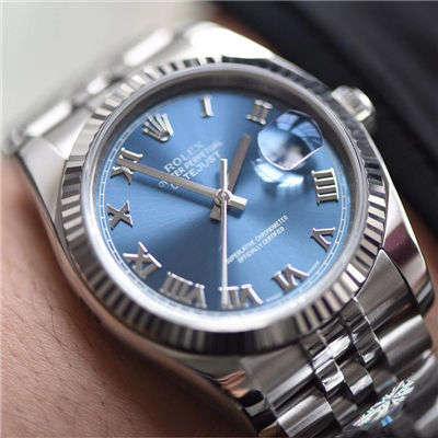 劳力士日志型系列116234-63200蓝罗腕表【AR顶级复刻手表】价格报价