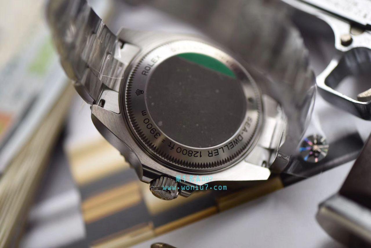 【AR厂一比一超A高仿手表】劳力士海使型系列116660-98210 蓝盘腕表(904钢渐变蓝鬼王) / R208